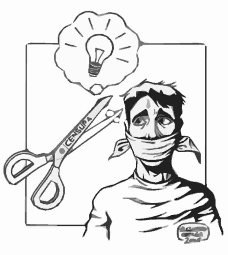 censura, censurarse, autocensura, punto de vista, opinión
