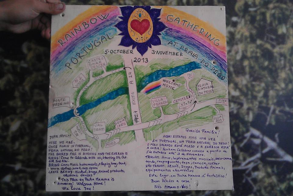 Rainbow Gathering en Portugal