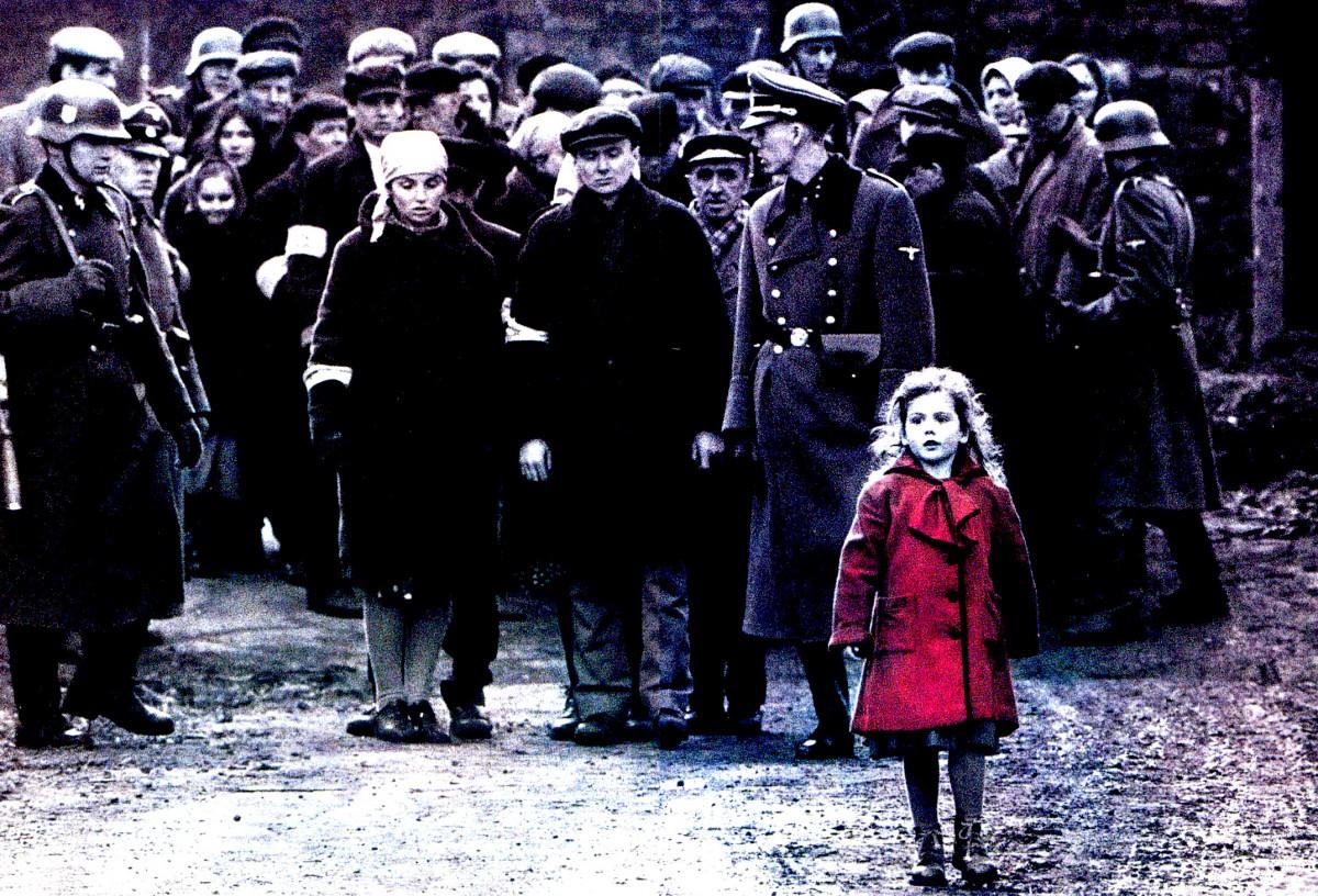 Guantanamos, La niña del abrigo rojo, el holocausto, La lista de Schindler, actualidad, CIEs, España