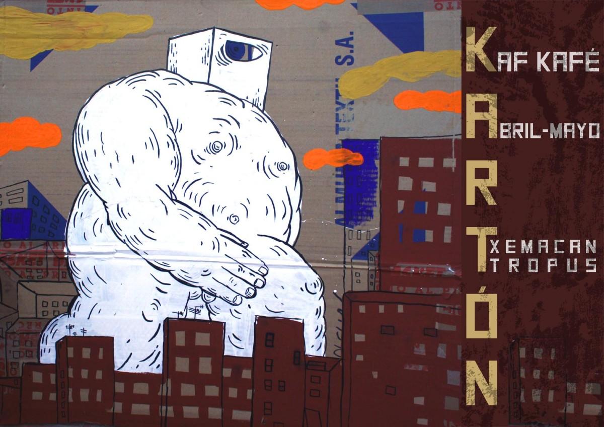 KARTON / Txemacan Tropus Exposición en Kaf Café