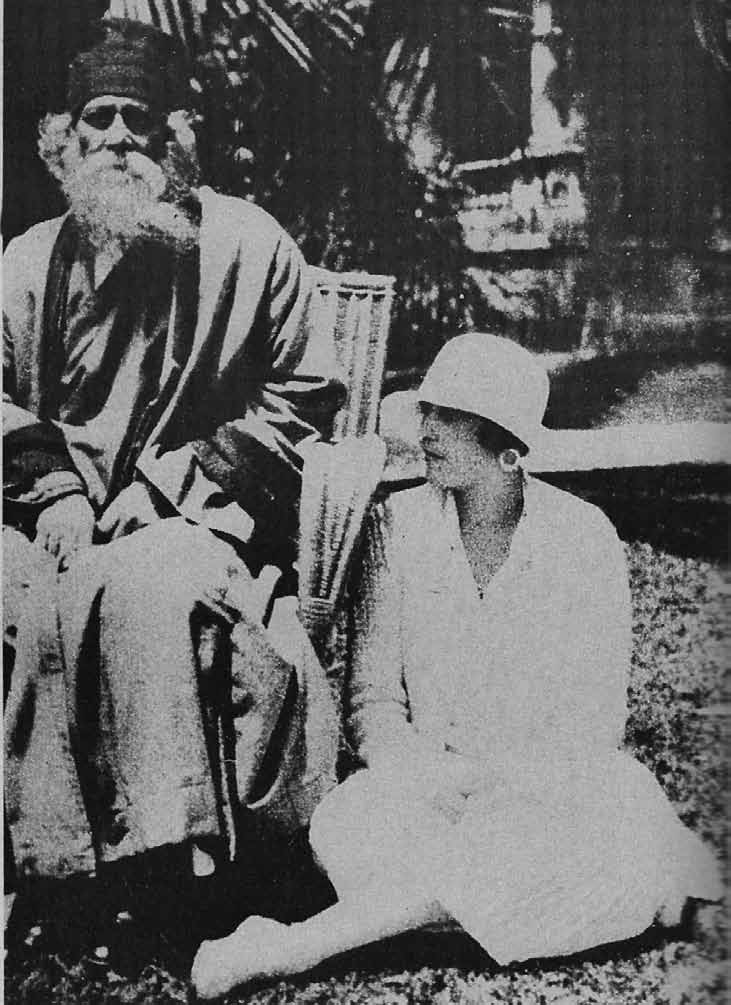 Tagore con Victoria Ocampo