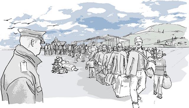 Deportación, paralisis, CIEs, xenofobia, europa, refugiados, ilegales, sin papeles